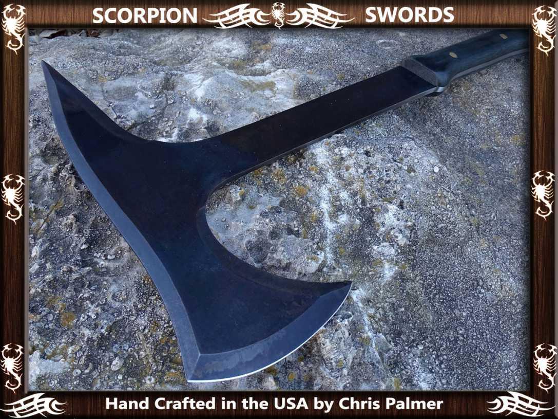 Scorpion Swords - Boarding Axe - Doomsday Line Axe #01 5