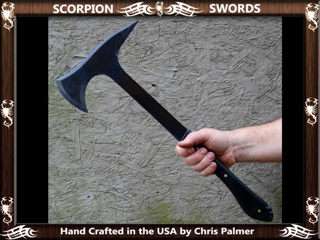 Scorpion Swords - Boarding Axe - Doomsday Line Axe #01 7