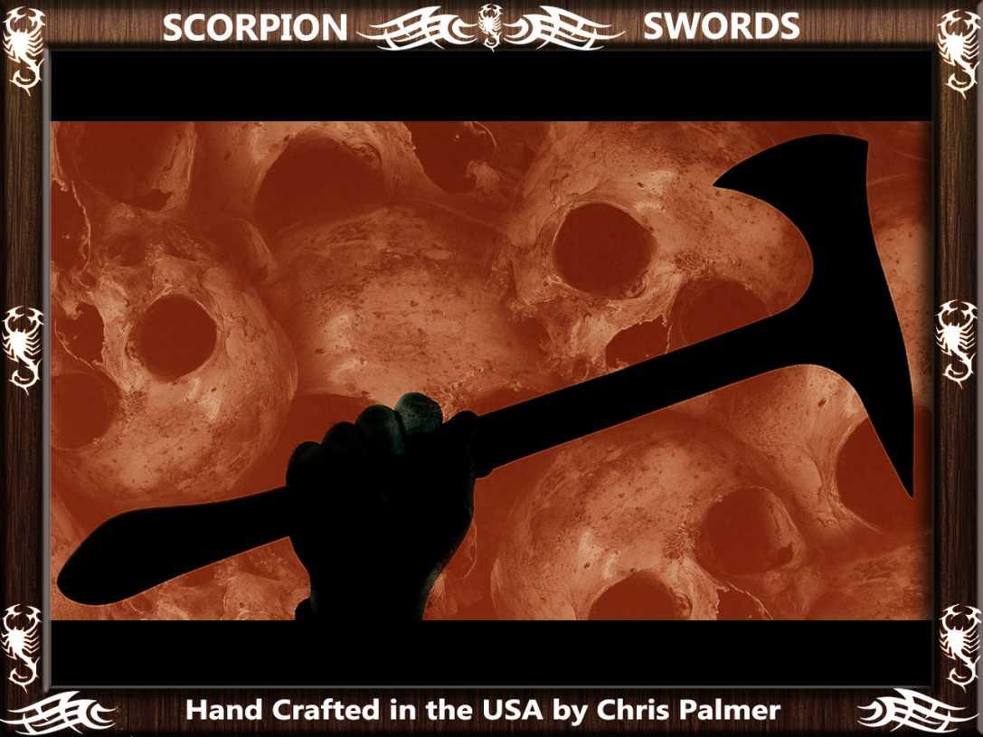 Scorpion Swords - Boarding Axe - Doomsday Line Axe #01 9