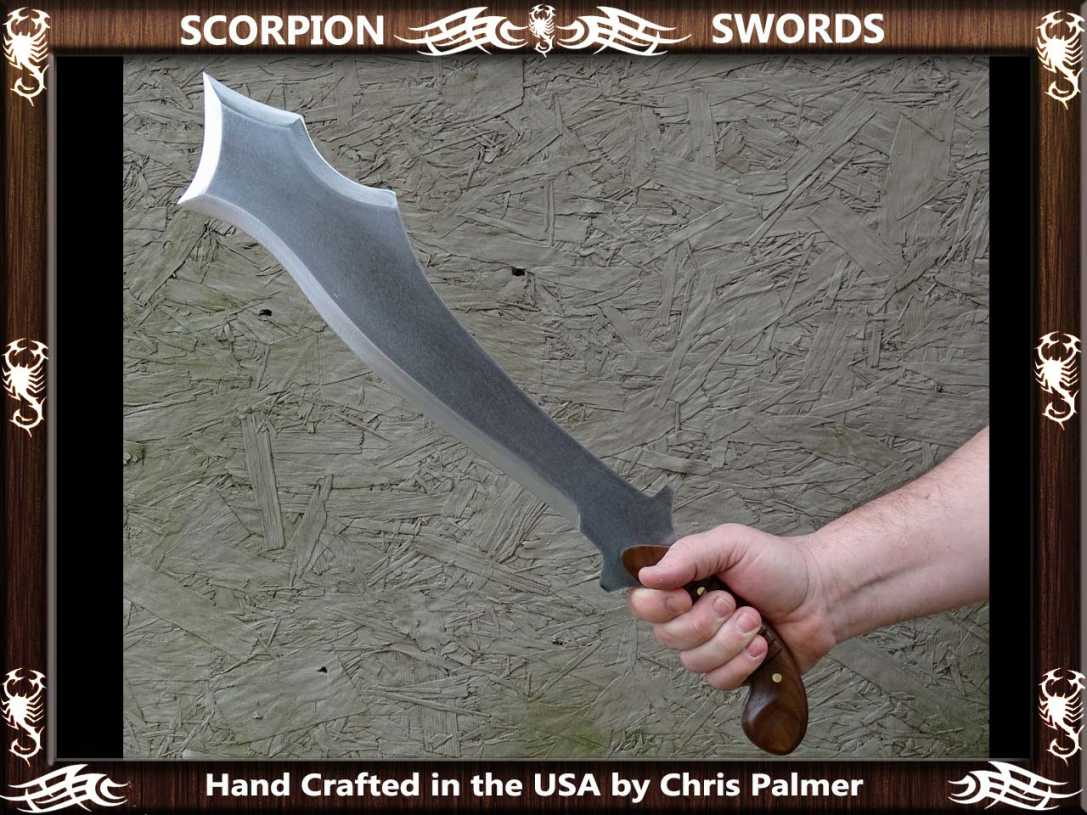Scorpion Swords Maciejowski Bible Fantasy Chopper