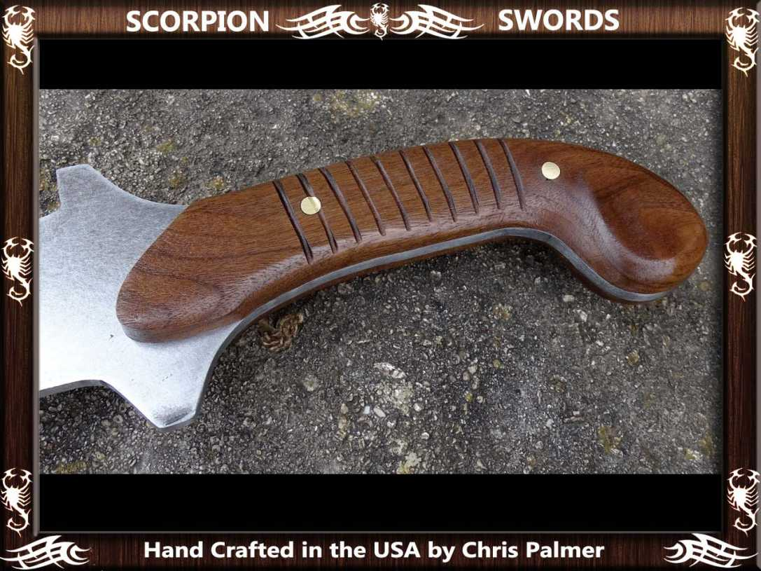 Scorpion Swords Maciejowski Bible Fantasy Chopper 2