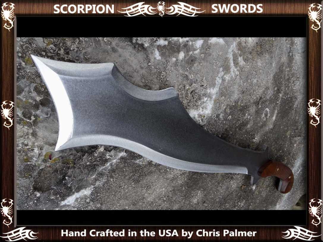 Scorpion Swords Maciejowski Bible Fantasy Chopper 4