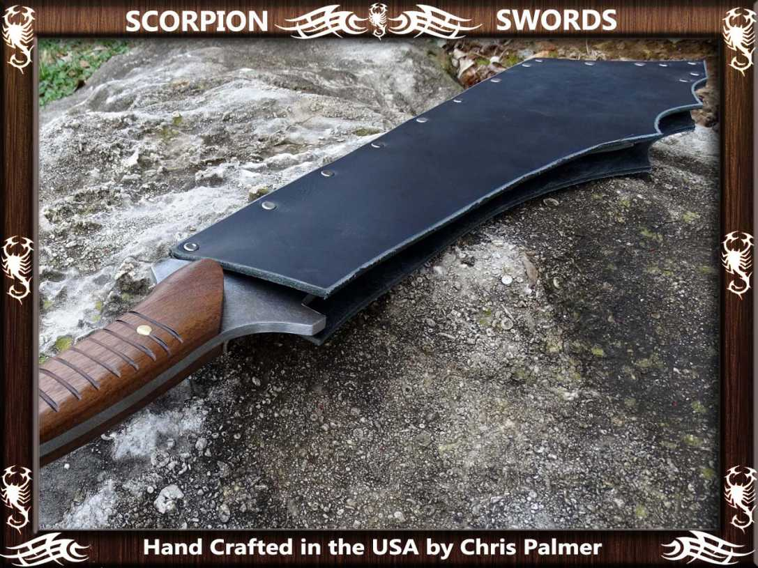 Scorpion Swords Maciejowski Bible Fantasy Chopper 8