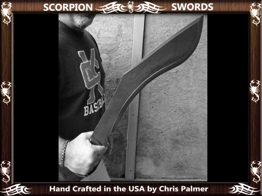 Scorpion Swords Reaper Sword 2