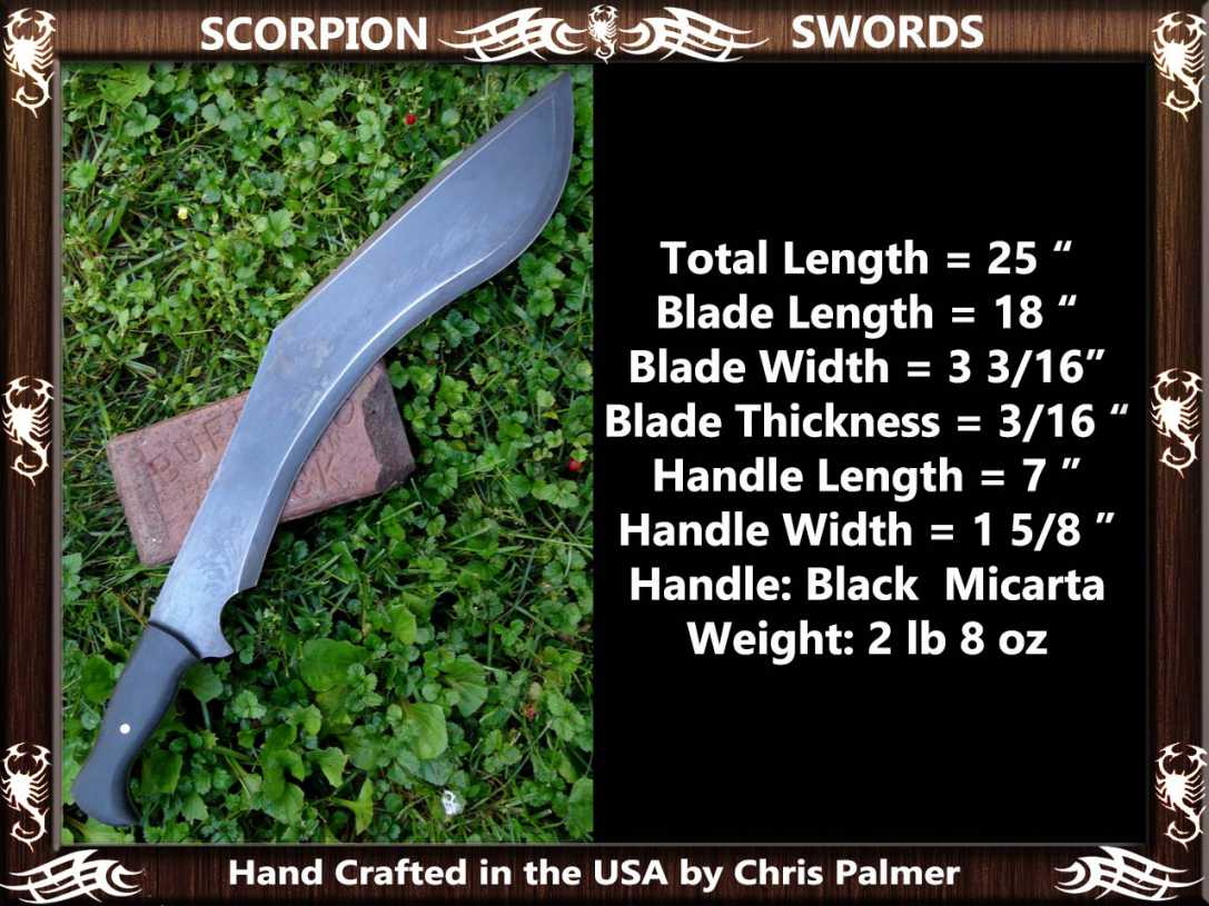 Scorpion Swords Reaper Sword 8