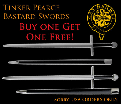 2 for 1 deal on Tinker Bastard Swords