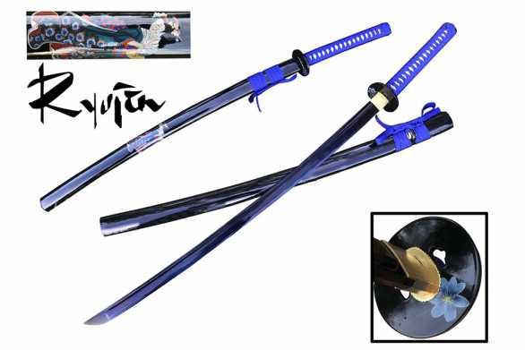 Ryujin 1045 Carbon Steel Blue Geisha