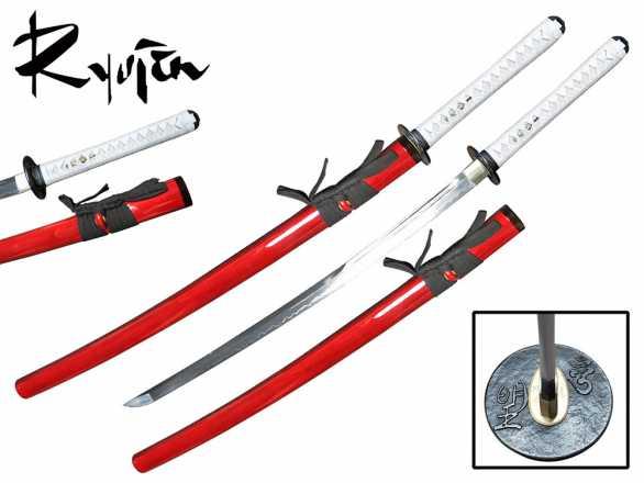 Ryujin T10 Katana - Akashiro Unokubi Zukuri Katana