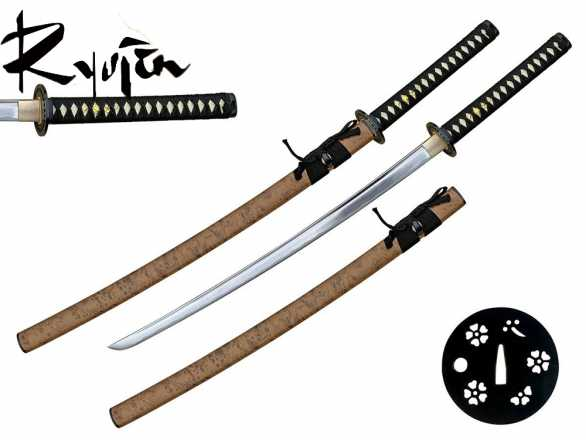 Ryujin 1045 Carbon Steel 'Yamabushi II' Art Sword