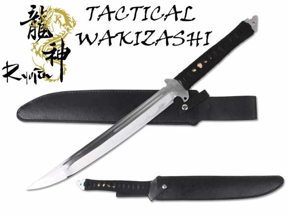Ryujin 65MN Spring Steel - the 'TakWak' Machete Sword
