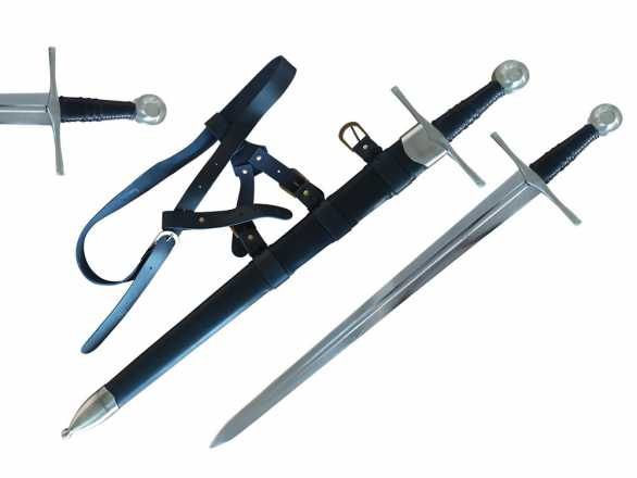 65MN Spring Steel 13th Century Knightly Arming Sword