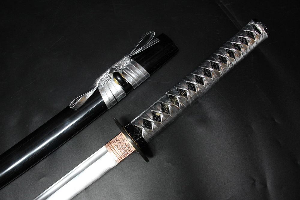 Ryujin 1045 Carbon Steel Gold Dragon Art Sword 2