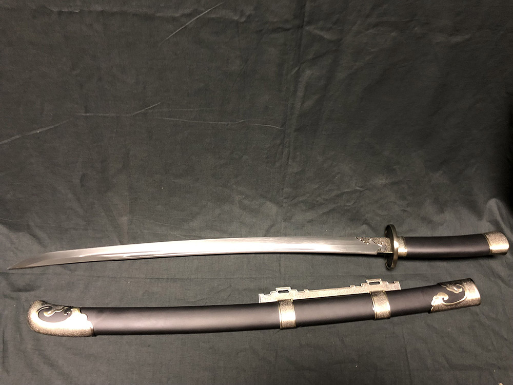 65MN Spring Steel Ming Dynasty Willow Leaf Dao 1