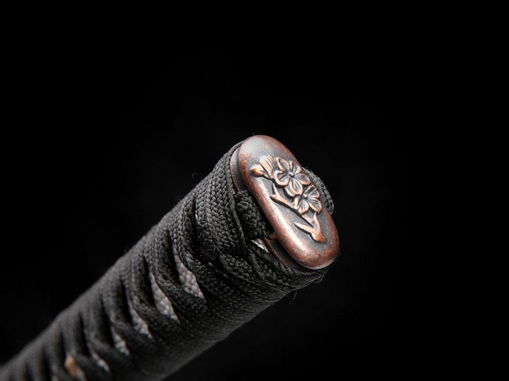Ryujin 1045/1060 Carbon Steel Folded 'Damascus Demon Tooth' Art Sword 9