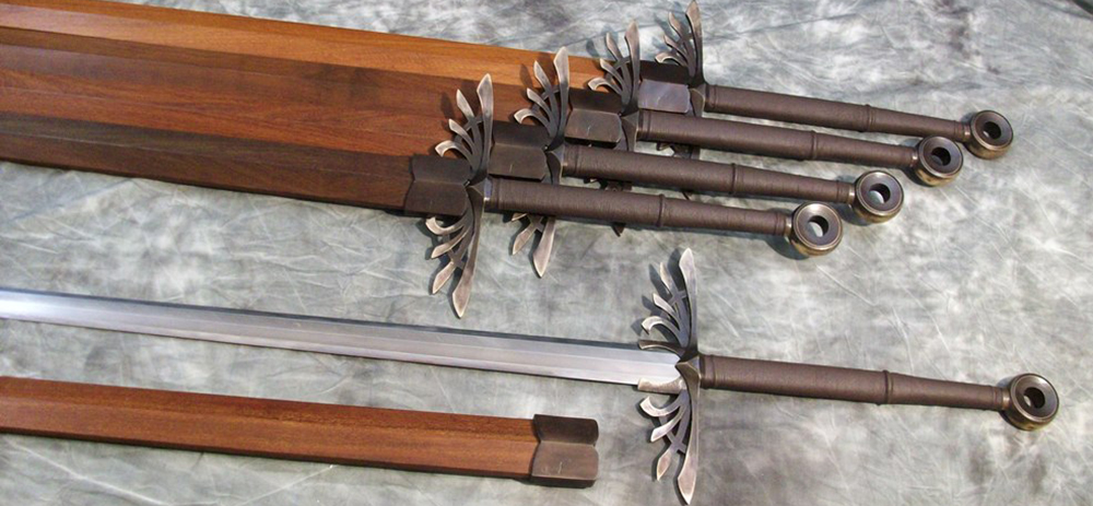 Seraph Aegis Sword by Jeffrey J. Robinson and Michael Ye 11