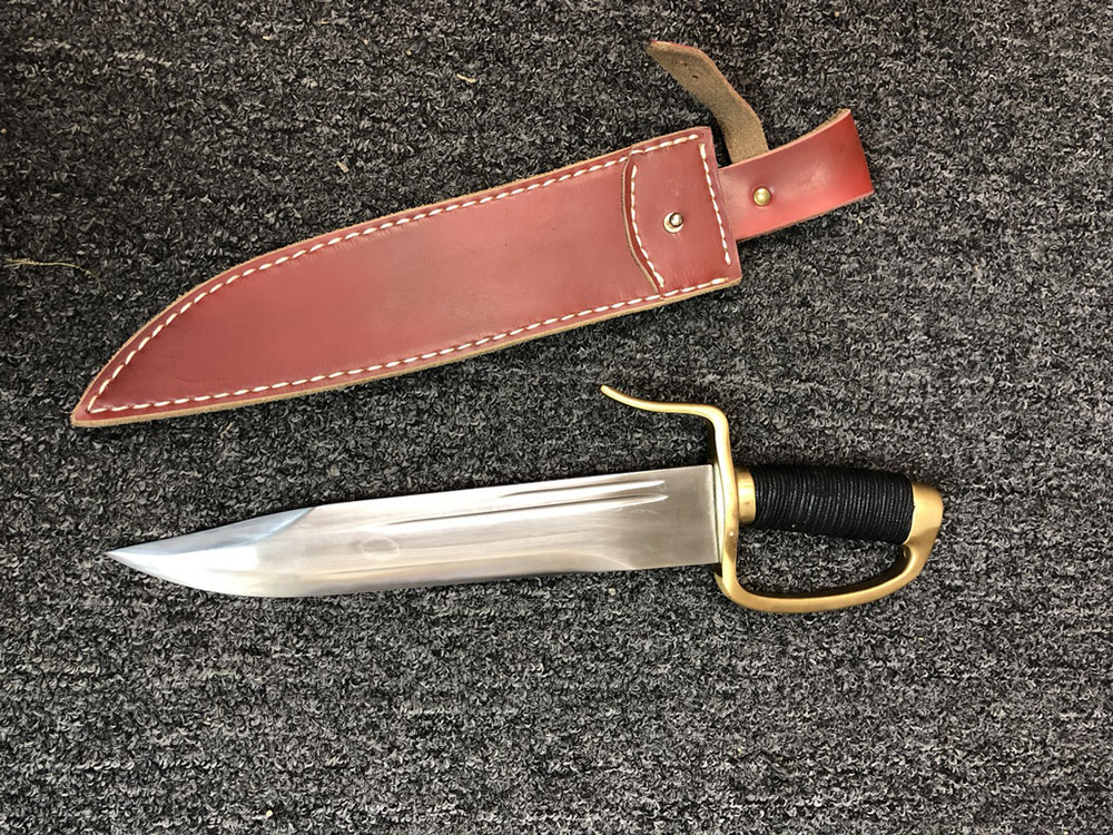 1095 Carbon Steel Butterfly Sword 1