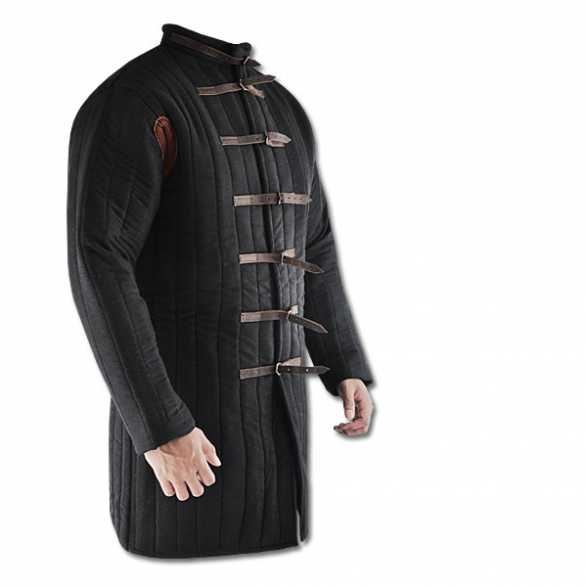 Hanwei Black Gambeson (Buckle closure)