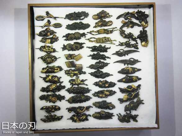 BoJ Menuki Collection #001: 25pcs Antique Edo Period