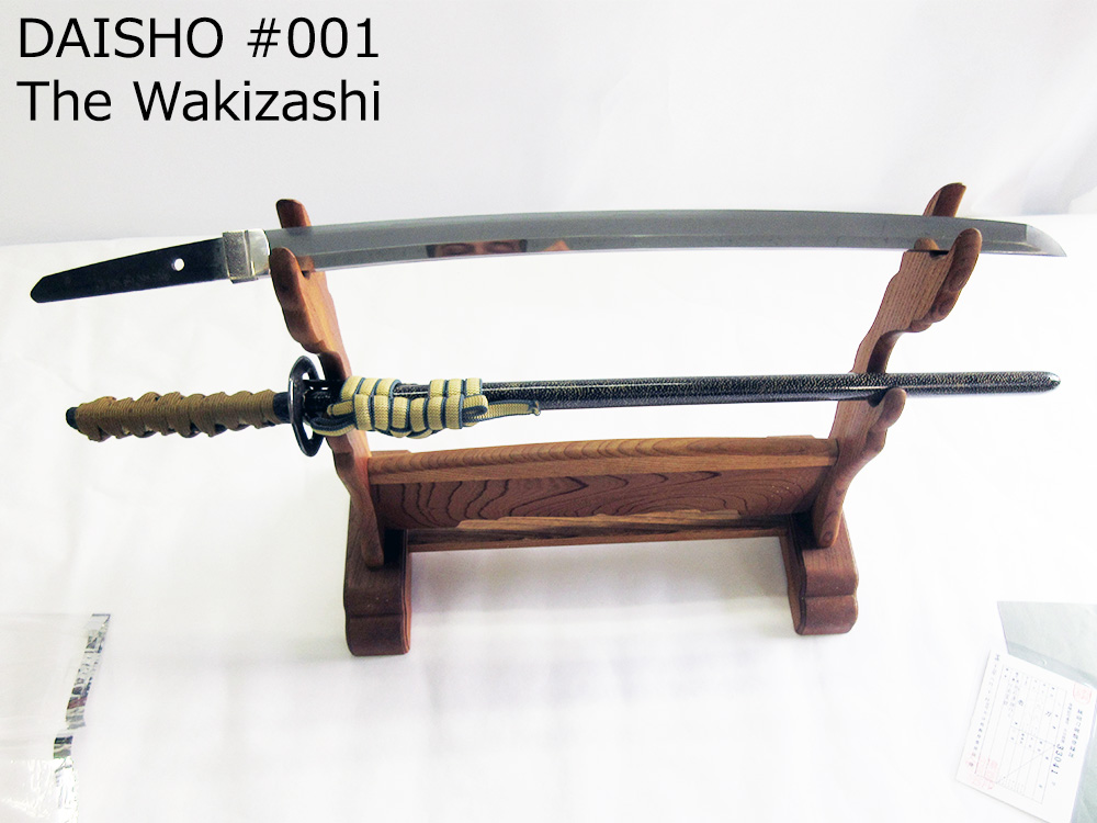 BoJ Daisho Set #001: Antique Mid Edo Period Katana and Wakizashi 33041/3040 10