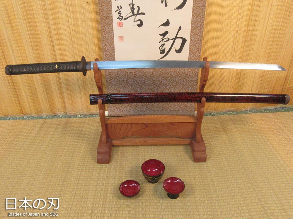 BoJ Katana #002: Antique Fujiwara Nagayoshi 83356