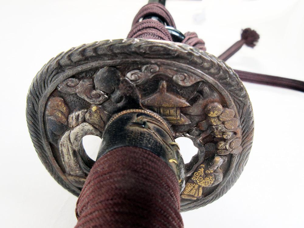 BoJ Koshirae #001: Antique Edo Period Sword Fittings (no blade) 10
