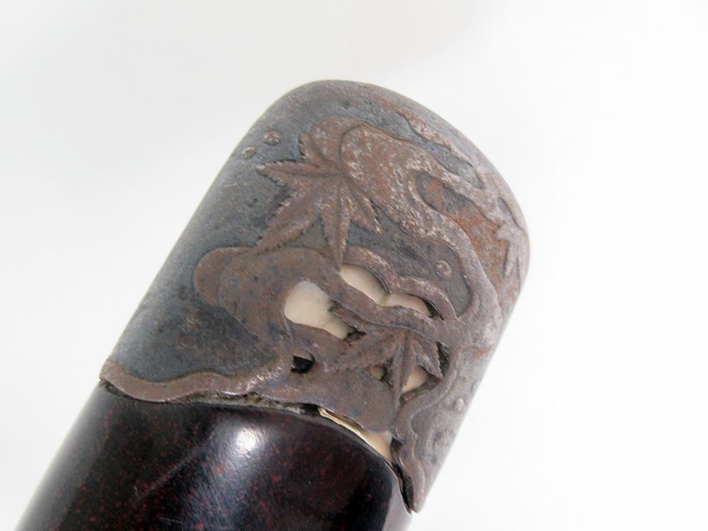 BoJ Koshirae #001: Antique Edo Period Sword Fittings (no blade) 14