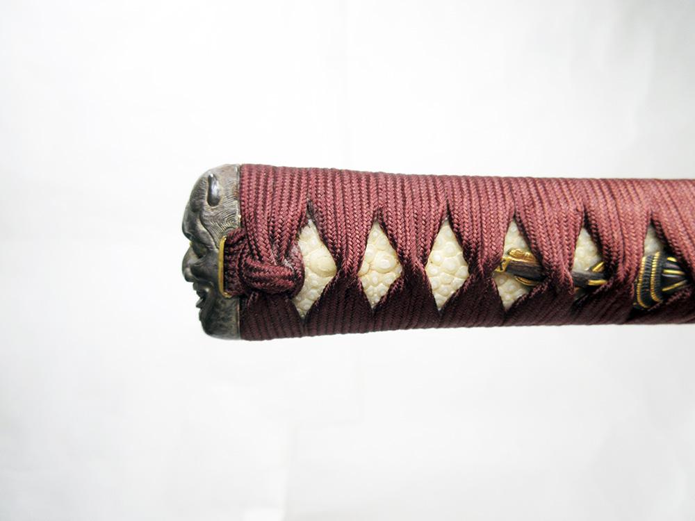 BoJ Koshirae #001: Antique Edo Period Sword Fittings (no blade) 4