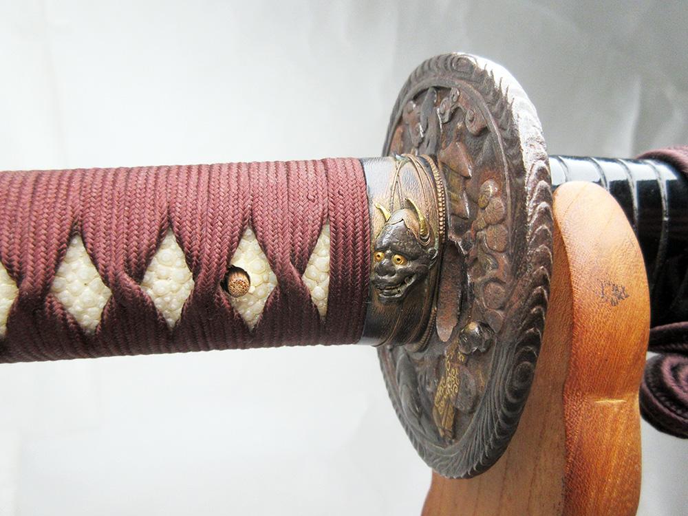 BoJ Koshirae #001: Antique Edo Period Sword Fittings (no blade) 6