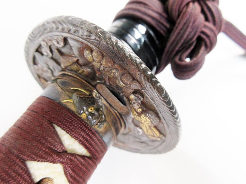 BoJ Koshirae #001: Antique Edo Period Sword Fittings (no blade) 7
