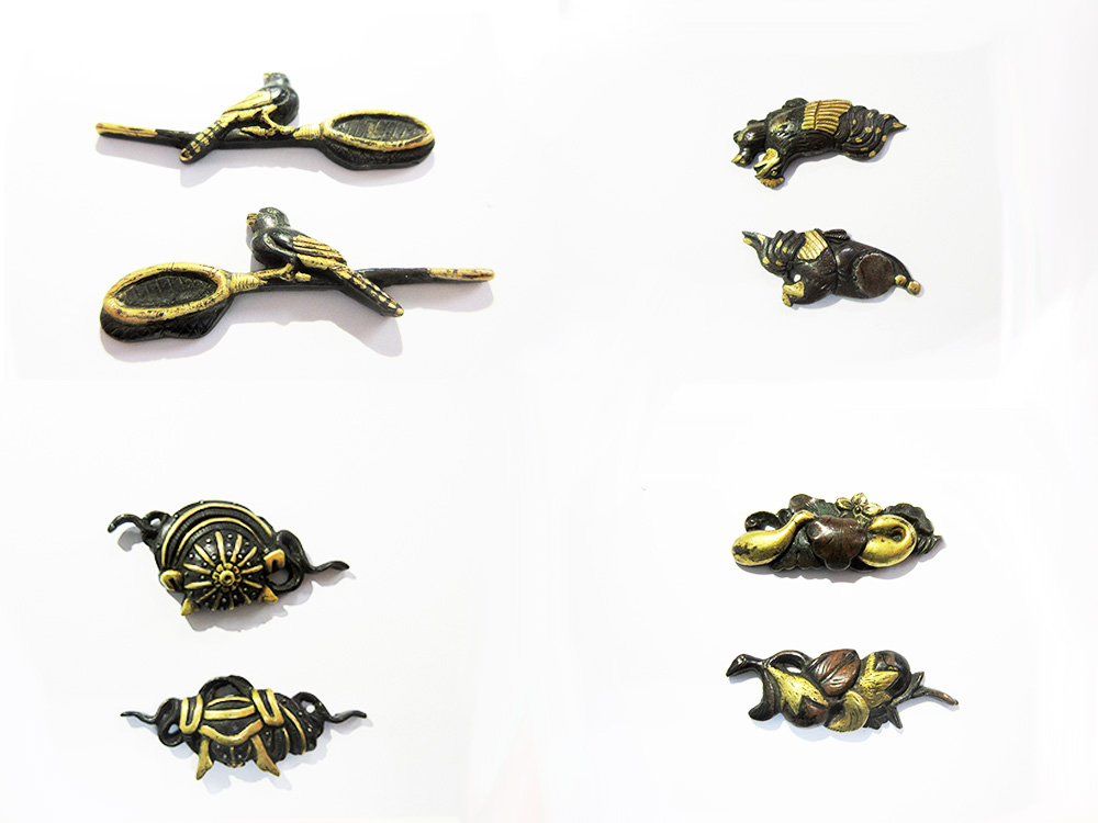 BoJ Menuki Collection #001: 25pcs Antique Edo Period 1