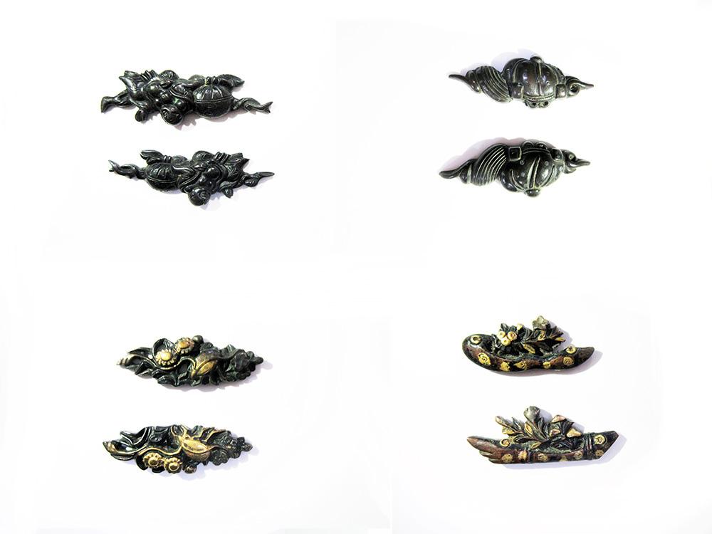BoJ Menuki Collection #001: 25pcs Antique Edo Period 4