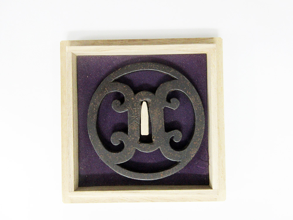BoJ Tsuba #003: Antique Edo Period for Katana 1
