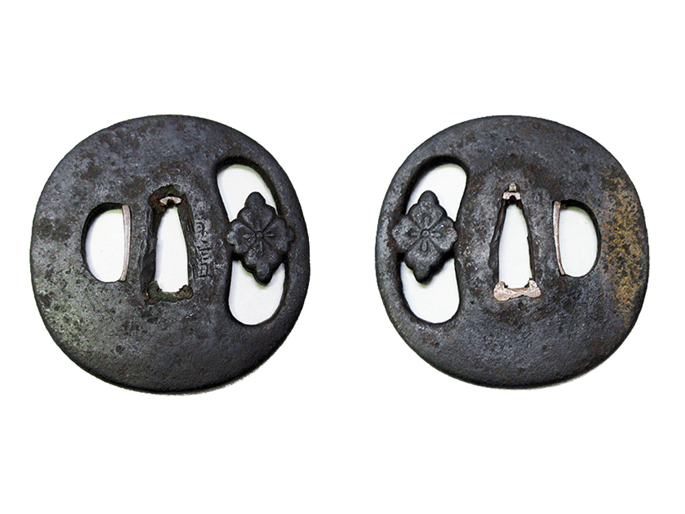 BoJ Tsuba #005: Antique Edo Period for Wakizashi