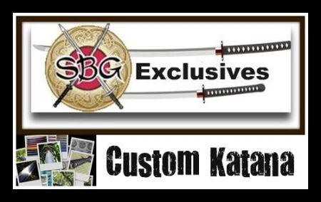 SBG $330 Custom Katana