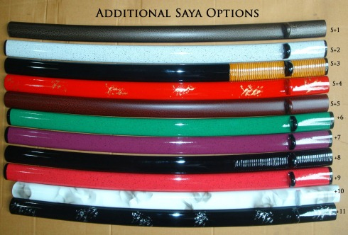 New saya options