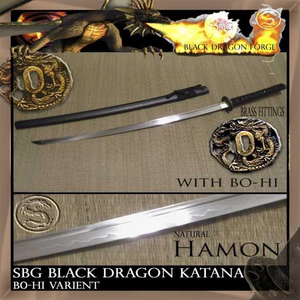 SBG Black Dragon Katana - bo-hi variant