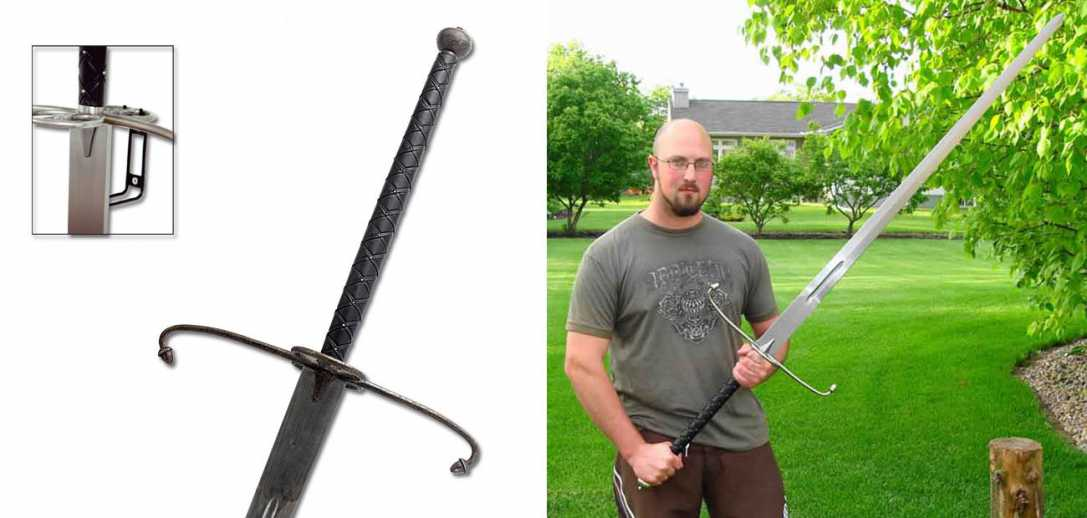 Hanwei Lowlander Sword - Antiqued Finish 1