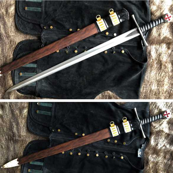 Kingdom of Arms Templar Knight Sword