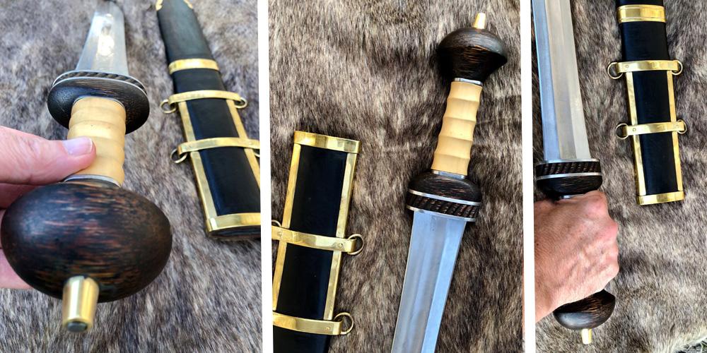 Kingdom of Arms Hispaniensis Roman Mainz Gladius Sword 2