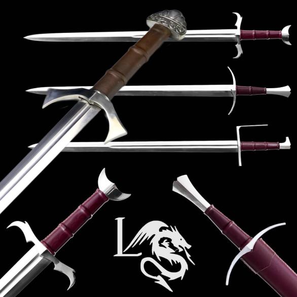 Legendary Swords Custom Fantasy Hand and a Half Sword