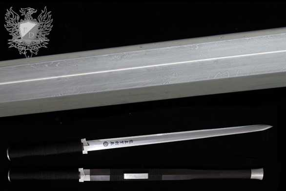 Forge Direct Silver Damascus Windsteel Sword