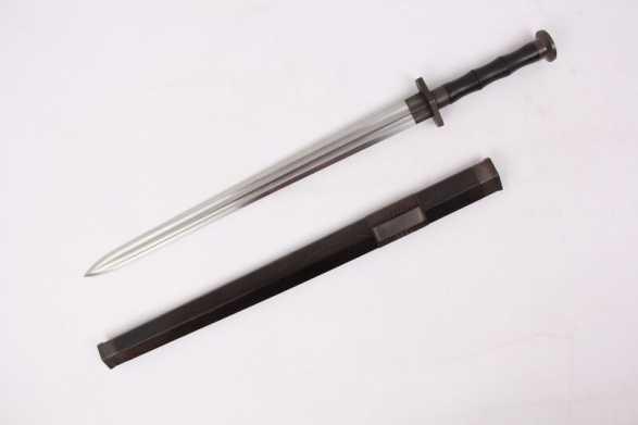 Forge Direct Damascus Warrior Shu Jian