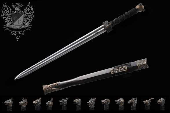 Forge Direct Haiyantang Zodiac Custom Sword