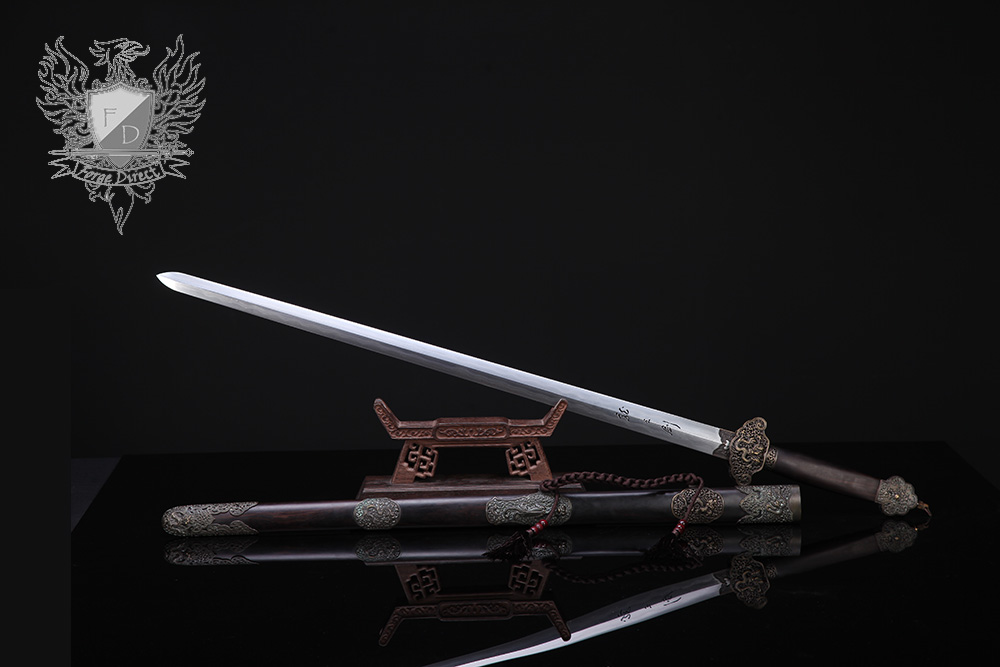 Forge Direct Nine Dragon Jian - Antiqued Finish 1