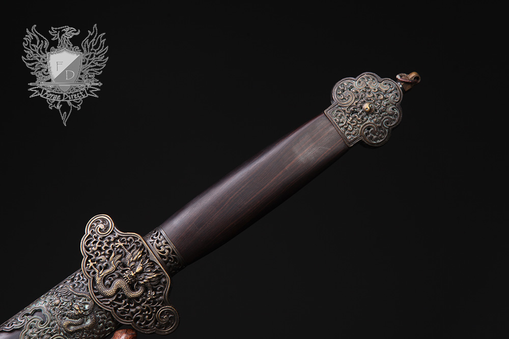 Forge Direct Nine Dragon Jian - Antiqued Finish 4