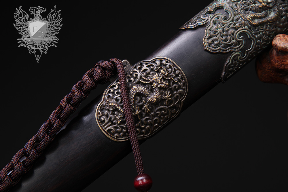 Forge Direct Nine Dragon Jian - Antiqued Finish 6