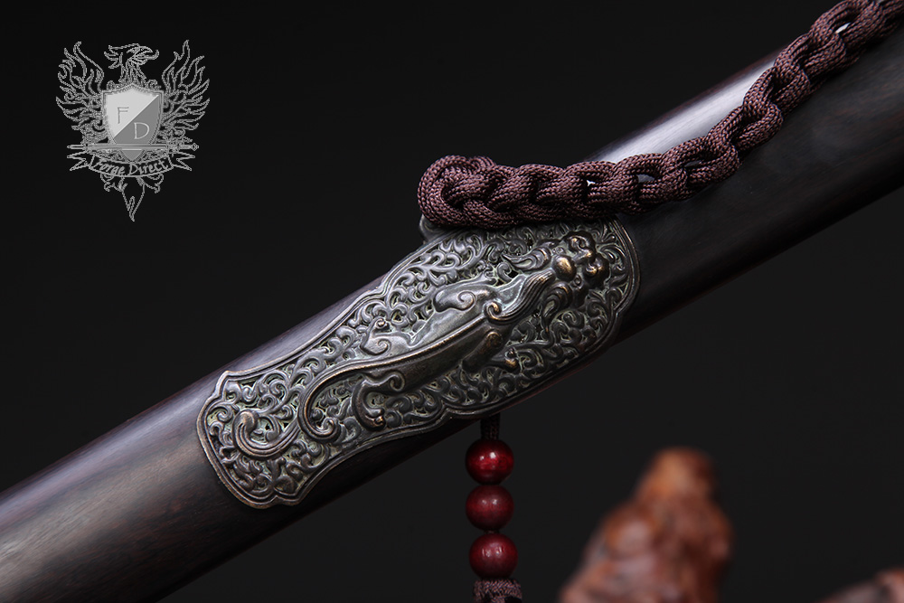 Forge Direct Nine Dragon Jian - Antiqued Finish 7