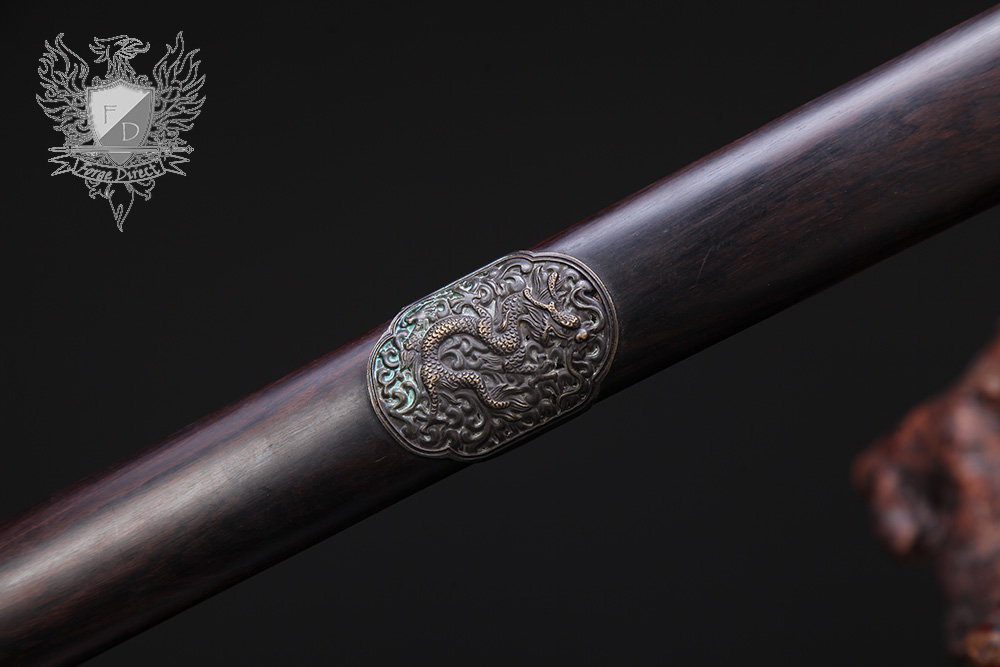 Forge Direct Nine Dragon Jian - Antiqued Finish 8
