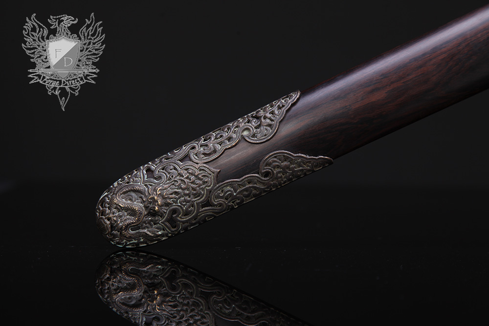 Forge Direct Nine Dragon Jian - Antiqued Finish 9