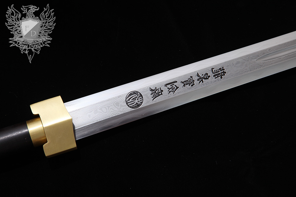 Forge Direct Warring States Brass Dragon Han Sword 9